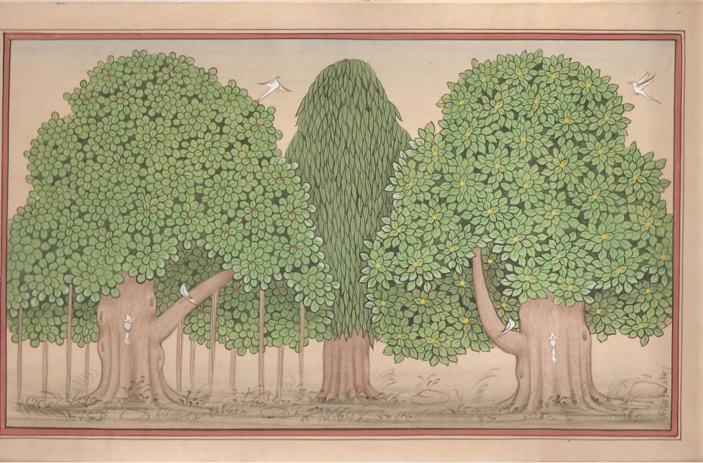 Miniature Botanical Group Trees