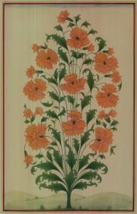 Traditional Flower in Shape of Vase