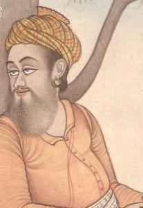Miniature Figure sufi with extreme detailed beard